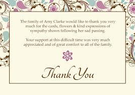 funeral thank you cards funeral thank you cards contemporary design 2