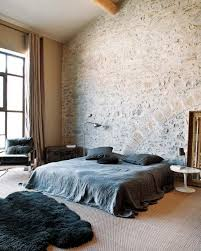 Stone On Walls Interior Interior Obsessions Stone Wall Paper And Stitch