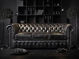 Chesterfield Sofa Modern by Decorations Classic Theme Interior With Midcentury Modern Couch