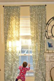 Make Your Own Curtain Rod Fabulous Curtains From A Twin Size Sheet