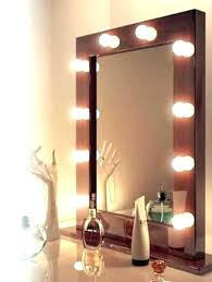vanity hollywood lighted mirror how to make a hollywood vanity mirror solomailers info