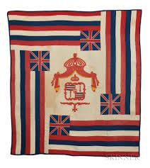 Image Of Hawaiian Flag Hawaiian Ku U0027u Hae Aloha Or Flag Quilt Sale Number 3080b Lot
