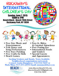rockaway u0027s international children u0027s day u2013 june 7 2015 10am 7pm