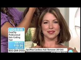 trimming hair angle cut cut your hair at home with creaclip on hsn angled bob layers