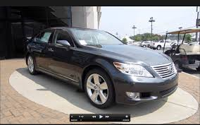 lexus ls images 2011 lexus ls460 l start up engine and in depth tour youtube