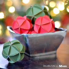 How To Make Decorative Balls Christmas Crafts Make Decorative Gilded Paper Balls