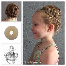 howtododoughnut plait in hair firework bun with hair donut from goudhaartje nl fireworkbun bun