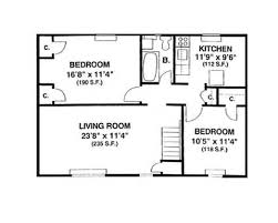700 square feet apartment floor plan homey ideas 6 700 sq ft house plans with 2 bedrooms bedroom square
