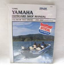clymer repair manual yamaha outboards 115 250hp b789 express marine