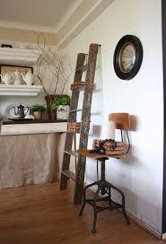 ladders an unexpected interior décor element with lots of versatility