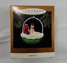 hallmark keepsake ornament barney light and motion magic 1994 ebay