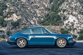 singer porsche blue note perfect porsche 911 by singer revolution