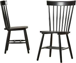 Dining Wood Chairs Beachcrest Home Royal Palm Solid Wood Dining Chair Reviews