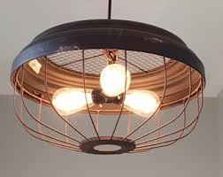Vintage Kitchen Light Fixtures Metal Pendant Light Etsy