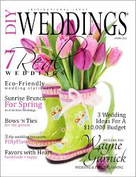 fiftyflowers featured in diy weddings magazine fiftyflowers the