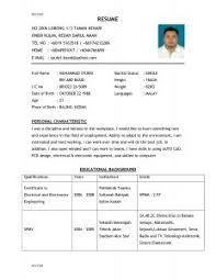 Resume Preparation Sample by Examples Of Resumes Example Job Resume Format 002 Choose Ideas