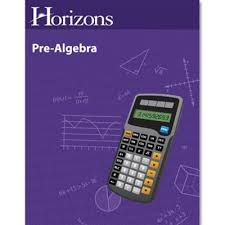 horizons math pre algebra homeschool math curriculum