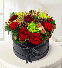 christmas flowers christmas flowers with free chocolates