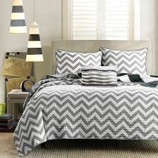 Queen Quilted Coverlet Leo 4 Piece Quilted Coverlet Set Black Full Queen Black