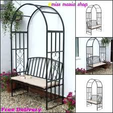 Garden Oasis Patio Chairs by Garden Steel Arbour Bench Cushion Arch Patio Furniture Arbor Metal