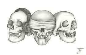 photo collection see no evil hear no evil drawings