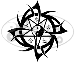 tribal tattoo wu xing tattoo wu xing and feng shui tattoos