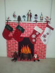 our cozy faux fireplace occasions and holidays
