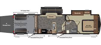 motorhome floor plans rv floor plans cardinal and montana floor plans