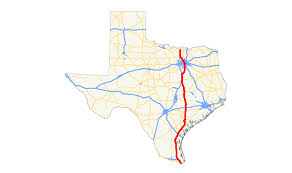 Texas Highway Map U S Route 77 In Texas Wikipedia