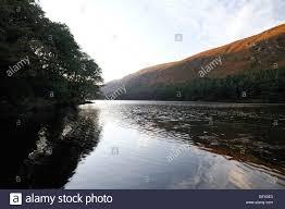 upper lake glendalough county wicklow ireland autumn fall color