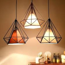 industrial style ceiling lights modern industrial style metal wire frame ceiling light shades