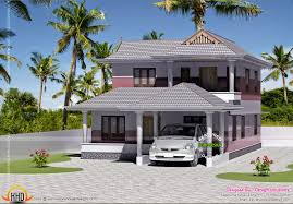 Small 4 Bedroom House Plans Small 4 Bedroom House Plan Kerala Home Design And Floor Plans
