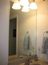 elizabeth u0026 co framing bathroom mirrors