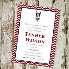 Invitation Card For Graduation Day Eagle Scout Court Of Honor Invitation Or Graduation Announcement