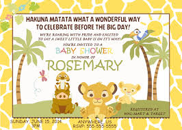 lion king baby shower invitations baby shower invitation lion king inspirational lion king baby