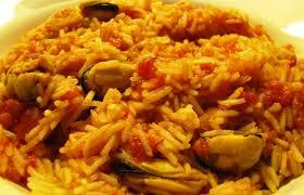 cuisine avec du riz cuisine riz aux moules