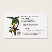 animal rescue business cards templates zazzle