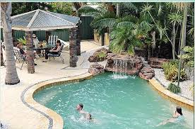 pools with waterfalls oasis swimming pool waterfall kits custom water features