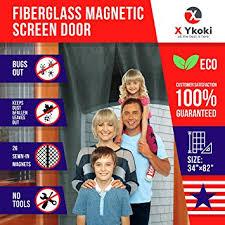 Patio Door Magnetic Screen Magnetic Screen Door Screen Door Curtain With Magnets New 2018