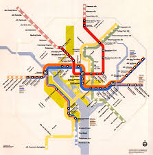 washington subway map metro grow from one line in 1976 to the silver line
