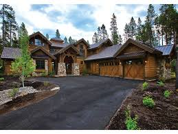 Rustic Mountain House Plans Vacation Home Plans Dream Home Source - Rustic modern home design
