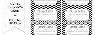 manificent design free printable baby shower raffle tickets