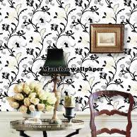 wallpaper bunga lingkaran jual wallpaper dinding bunga lingkaran modern hitam putih di lapak
