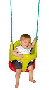 siège balançoire bébé smoby 310194 jeu plein air balancoire siège bébé 2 en 1