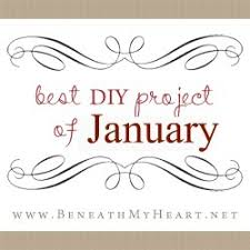 best diy projects of january u201d linky party beneath my heart