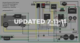 honda ruckus wiring diagram honda wiring diagrams instruction