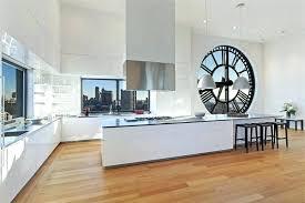 horloge murale pour cuisine horloge de cuisine design horloge moderne cuisine horloge design