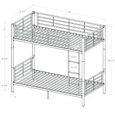 bunk bed measurements twin bunk bed measurement smartwedding co