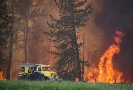 Eastern Washington Wildfire Update by All Outdoor Burning Is Banned The Spokesman Review