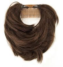 comment cuisiner chignons frais postiche cheveux mi longs queue ou chignon chatain acheter pas